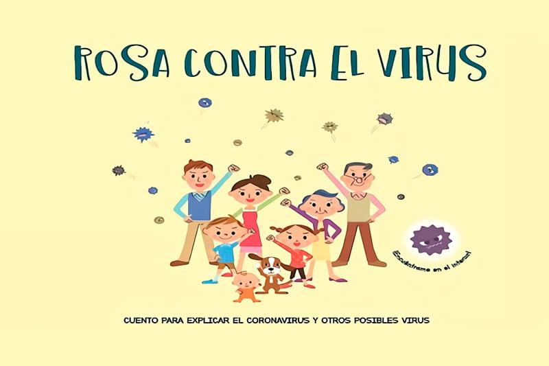 Cuento para explicar a los niños qué es el coronavirus y otros virus