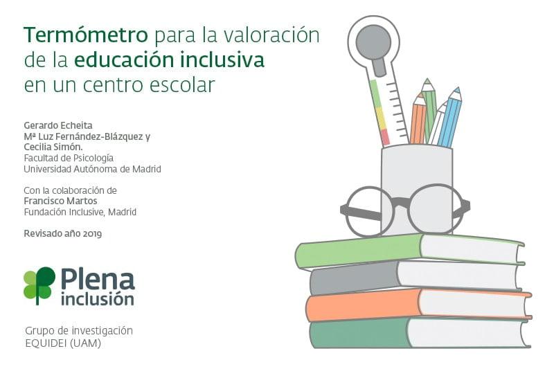 Termómetro para la valoración de la educación inclusiva en un centro escolar
