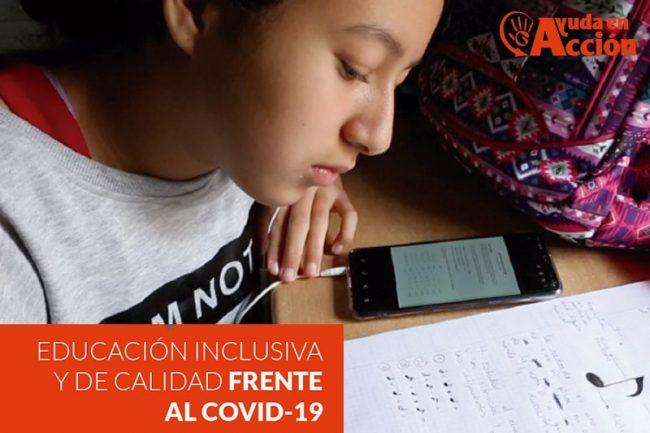 Educación inclusiva y de calidad frente al covid-19