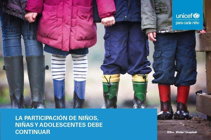 La participación infantil debe continuar tras la pandemia