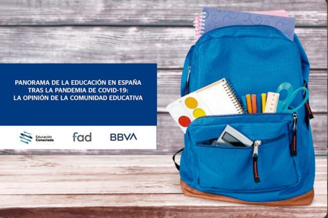 Panorama de la educación en España tras la pandemia de COVID-19: la opinión de la comunidad educativa