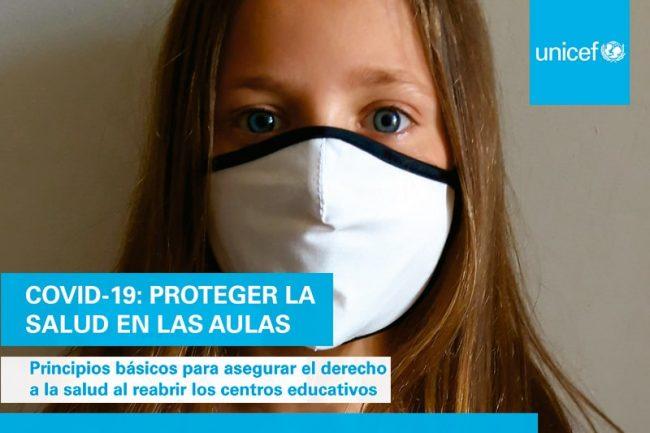 Proteger la salud en las aulas. Principios básicos para asegurar el derecho a la salud al reabrir los centros educativos y para poder garantizar su funcionamiento seguro