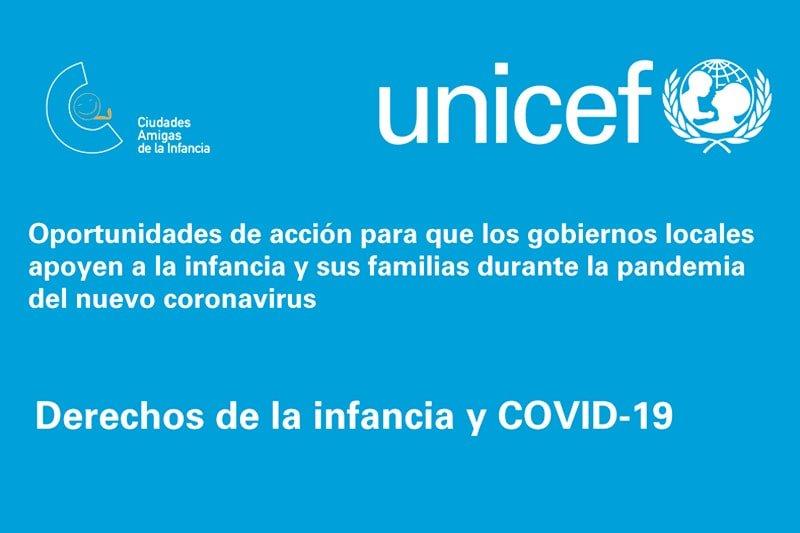 Oportunidades de acción para que los gobiernos locales apoyen a la infancia y sus familias durante la pandemia del nuevo coronavirus