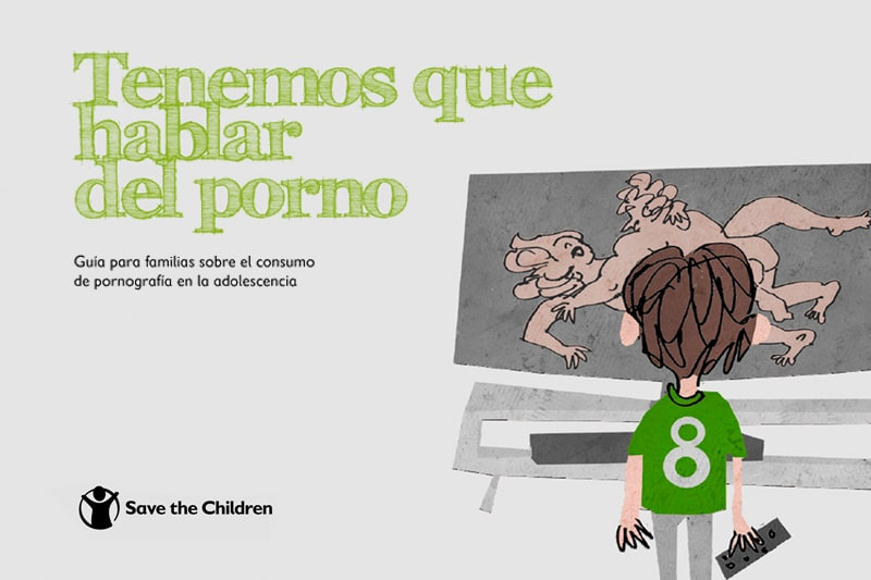 """Guía para Familias: """"Tenemos que hablar del porno"""""""