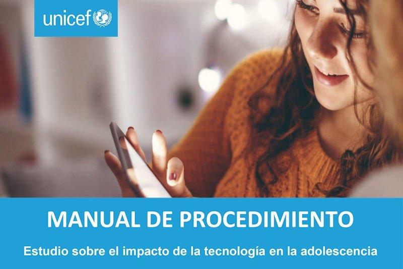 Manual de procedimiento sobre el impacto de la tecnología en la adolescencia
