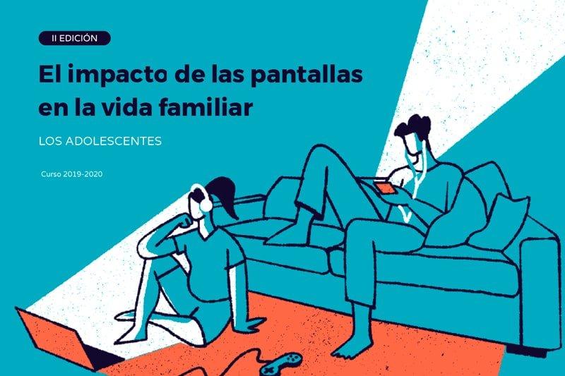 El impacto de las pantallas en la vida familiar: los adolescentes