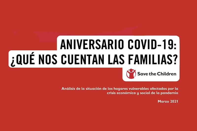 Aniversario COVID-19: ¿qué nos cuentan las familias?